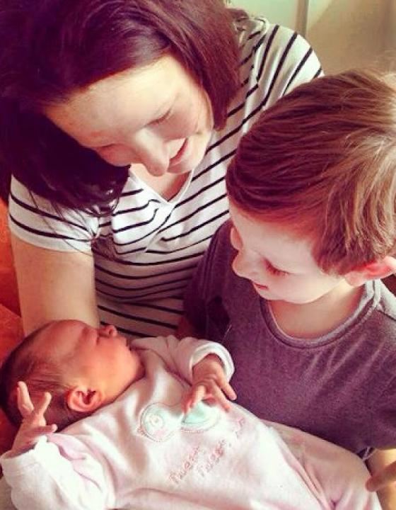 Emilias Geburt 2014