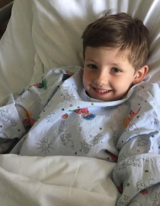Gabriels erster Krankenhausaufenthalt