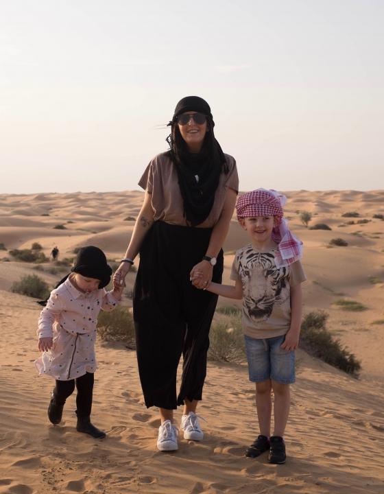 Dubai Reise mit den Kindern