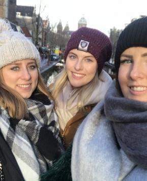 Amsterdam Wochenende im Winter