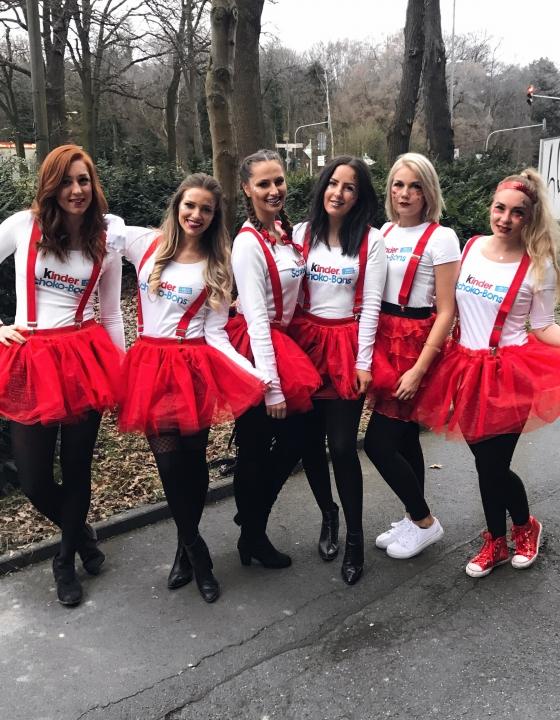 Karnevalskostüm – Schoko Bon