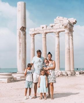 Türkei / Side, zehn Tage Urlaub mit Kindern & Baby